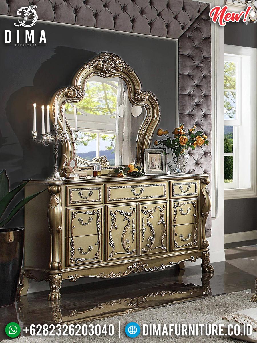 New Design Meja Konsol Dan Cermin Luxury Imperial Louis XVI DF-1071