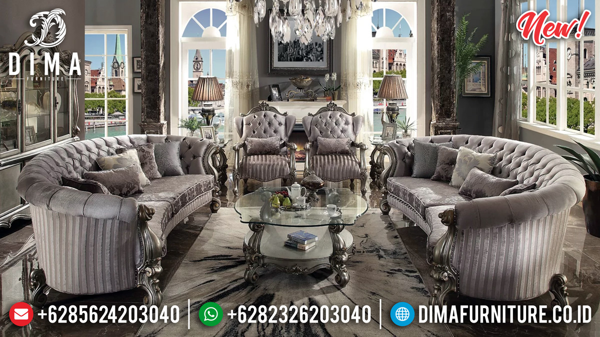 Terpopular Set Sofa Tamu Mewah Alexa Luxury Style DF-1105