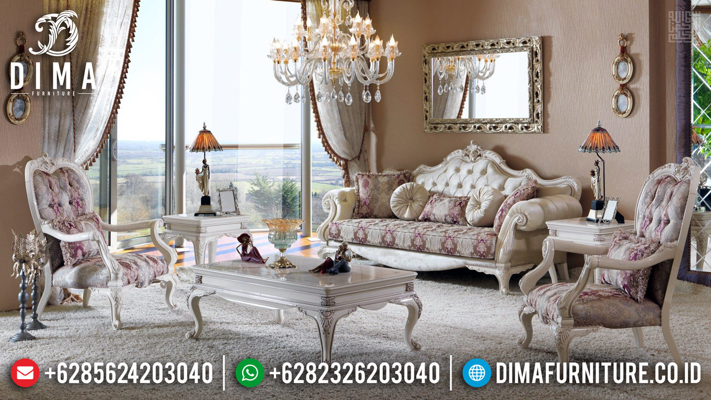 Buy Discount Furniture Jepara Sofa Tamu Mewah Duco Klasik DF-1174