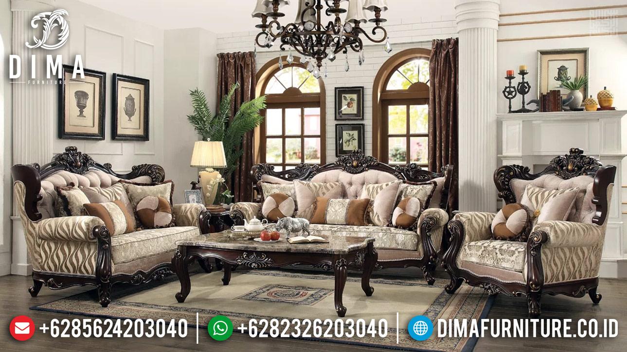 Deluxe Set 3 2 1 Sofa Tamu Mewah Furniture Jepara Camren DF-1172