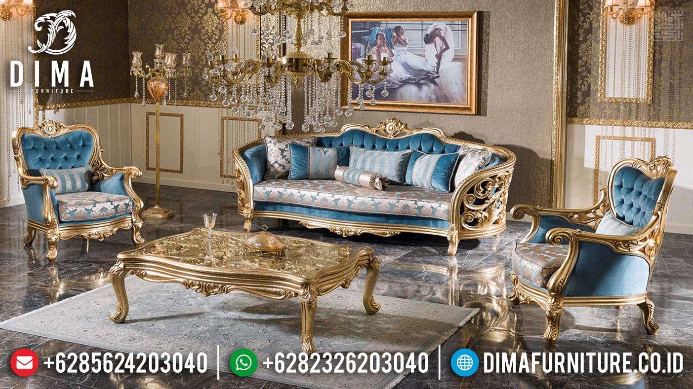 Elite Furniture Jepara Exclusive Sofa Tamu Mewah Golden DF-1175