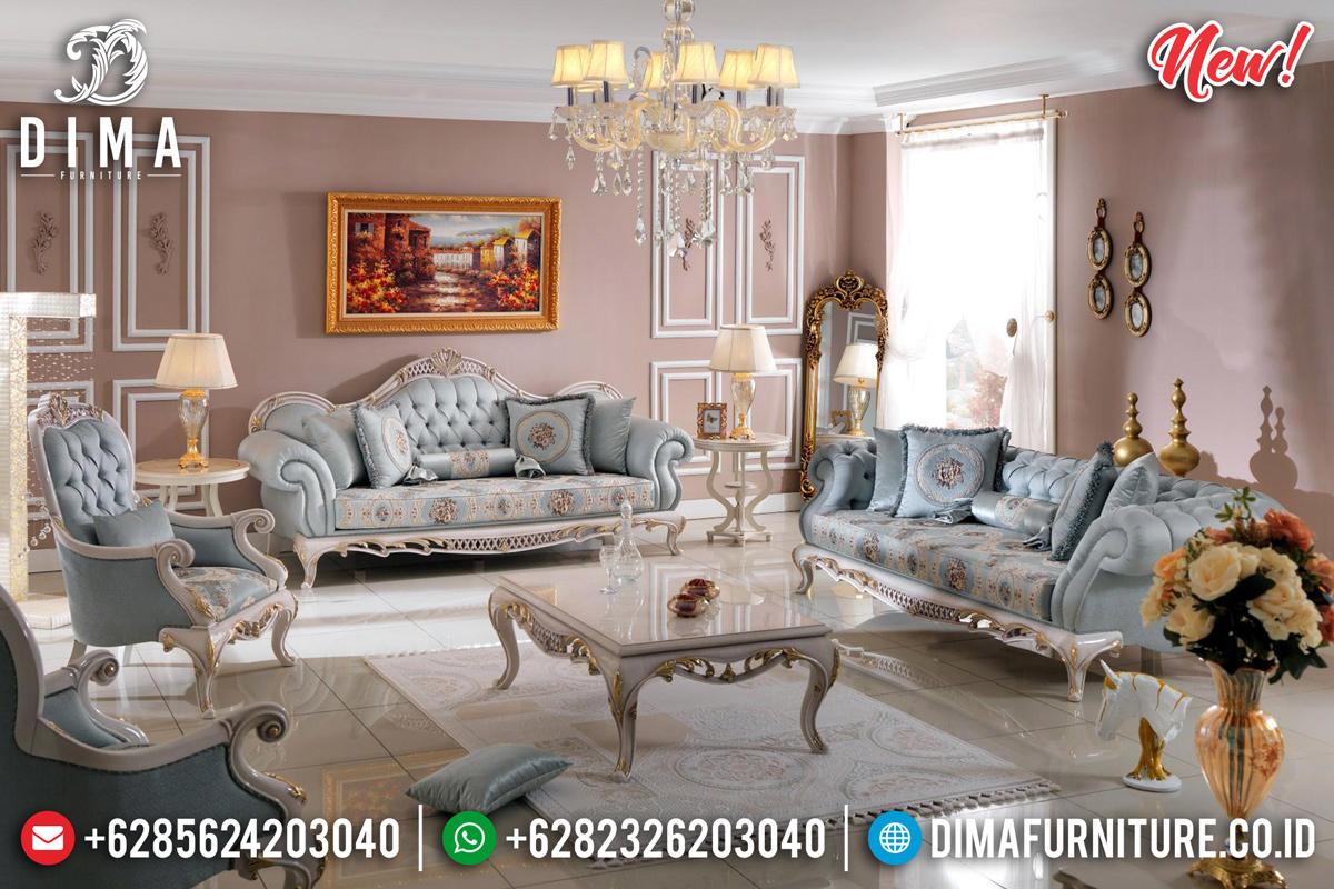 Model Sofa Tamu Mewah Jepara Konsep Luxury Classic DF-1129