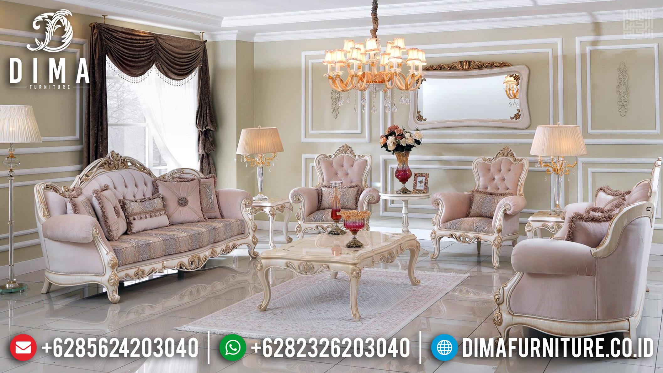 New 3 2 1 1 Sofa Tamu Mewah Furniture Jepara Neny DF-1170