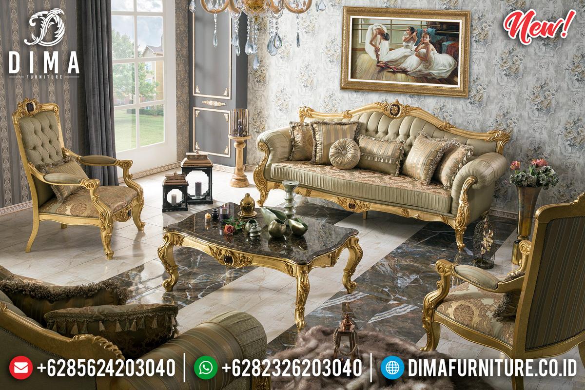 Sofa Tamu Mewah Elizabeth Furniture Jepara Terpercaya DF-1126
