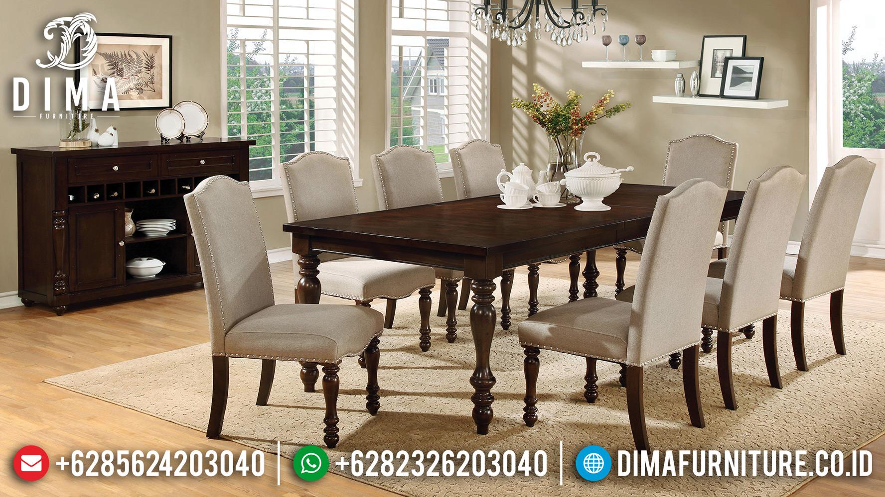 Furniture Jepara Terbaru Meja Makan Minimalis Jati Monalissa DF-1202