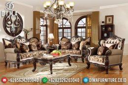 Kursi Tamu Jati Royals, Sofa Tamu Mewah, New Furniture Ukir Jepara DF-1205