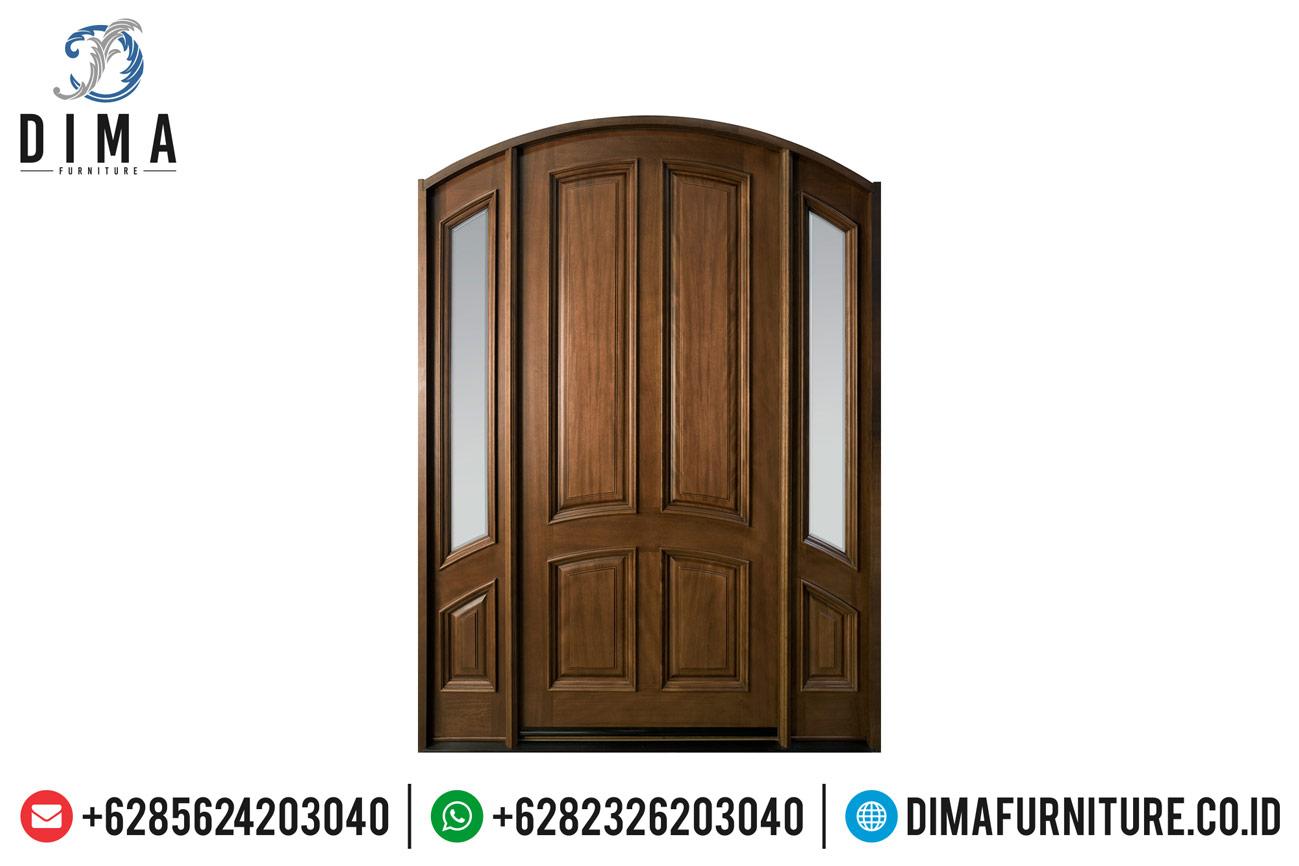 Mebel Jepara Pintu Rumah Jati Minimalis Mewah Berkualitas DF-1215