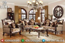 New Luxury Furniture Jepara Jati Sofa Tamu Mewah Ukiran Royal DF-1195