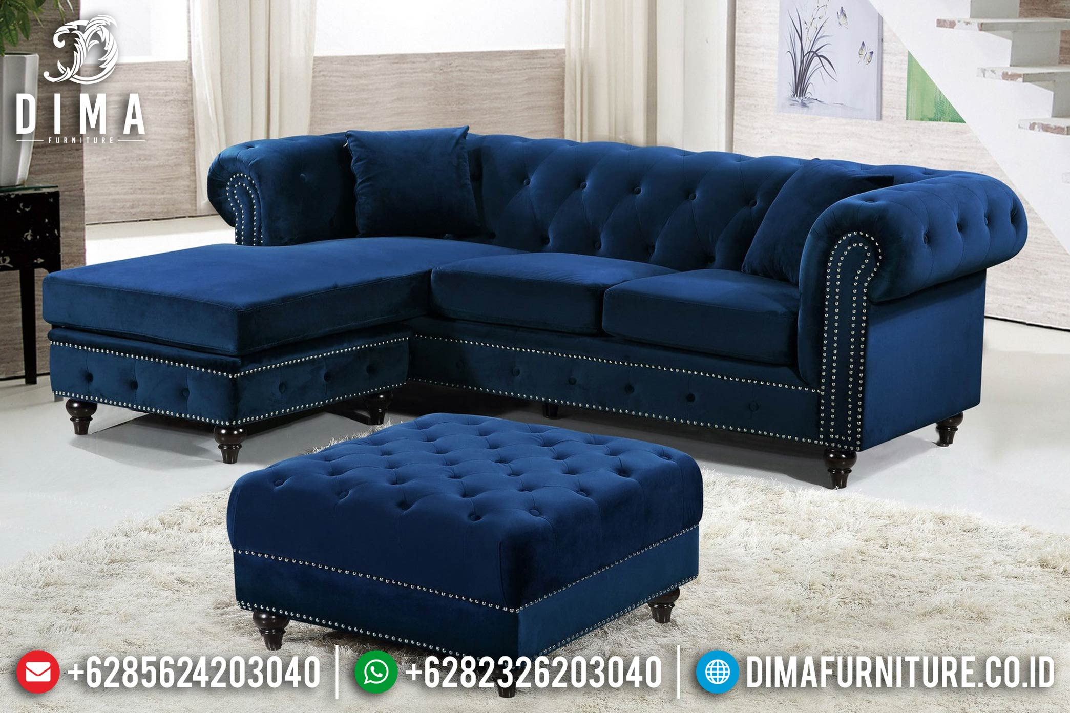 New Sale Sofa Tamu Minimalis Mewah Dima Furniture Jepara DF-1204