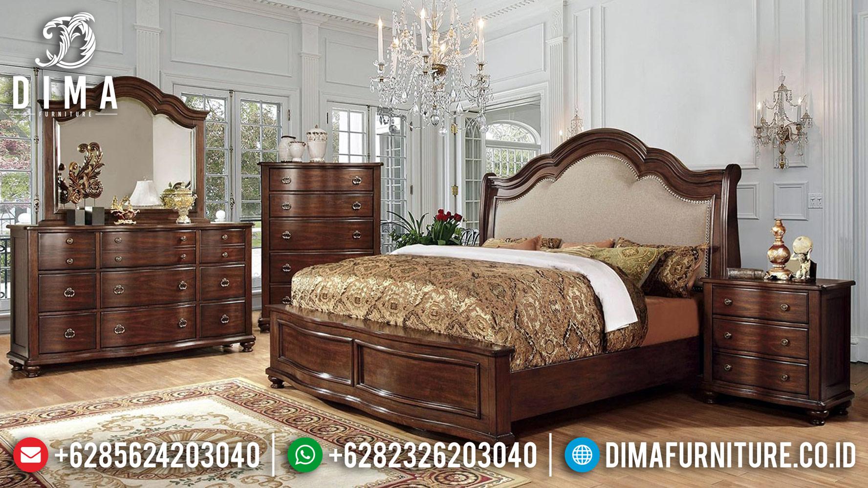 Sale Tempat Tidur Jati Jepara Natural Kamar Set Mewah Minimalis DF-1241