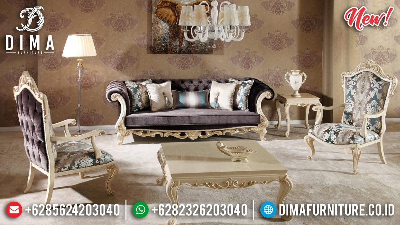 Sale Sofa Tamu Jepara Mewah New Ukiran Klasik Duco DF-1256