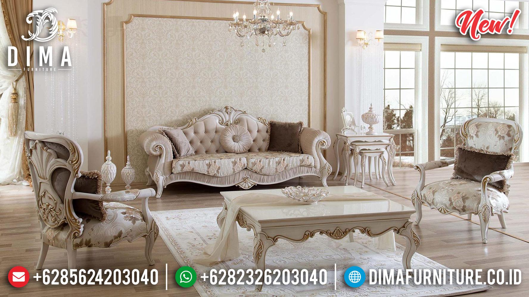 Set Sofa Tamu Jepara Mewah Klasik New Gaya Turkey 2020 DF-1248