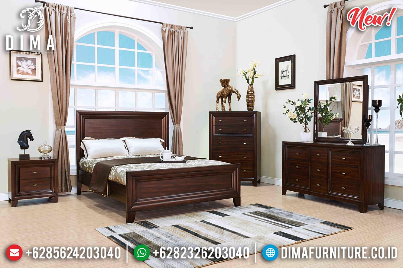 Promo Tempat Tidur Jati Jepara Harga Murah Minimalis Terbaru DF-1294
