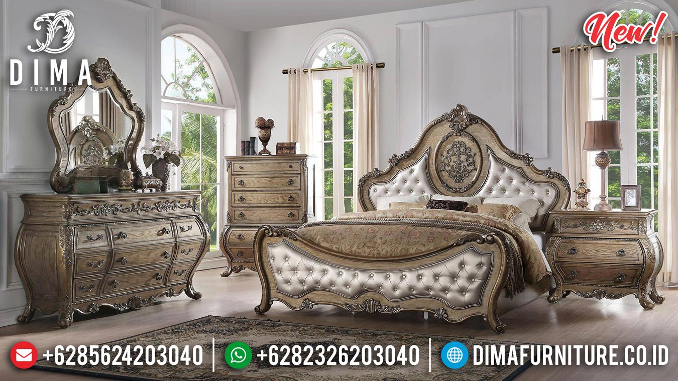 Furniture Sultan Tempat Tidur Jepara Mewah Ukir Victorian DF-1318