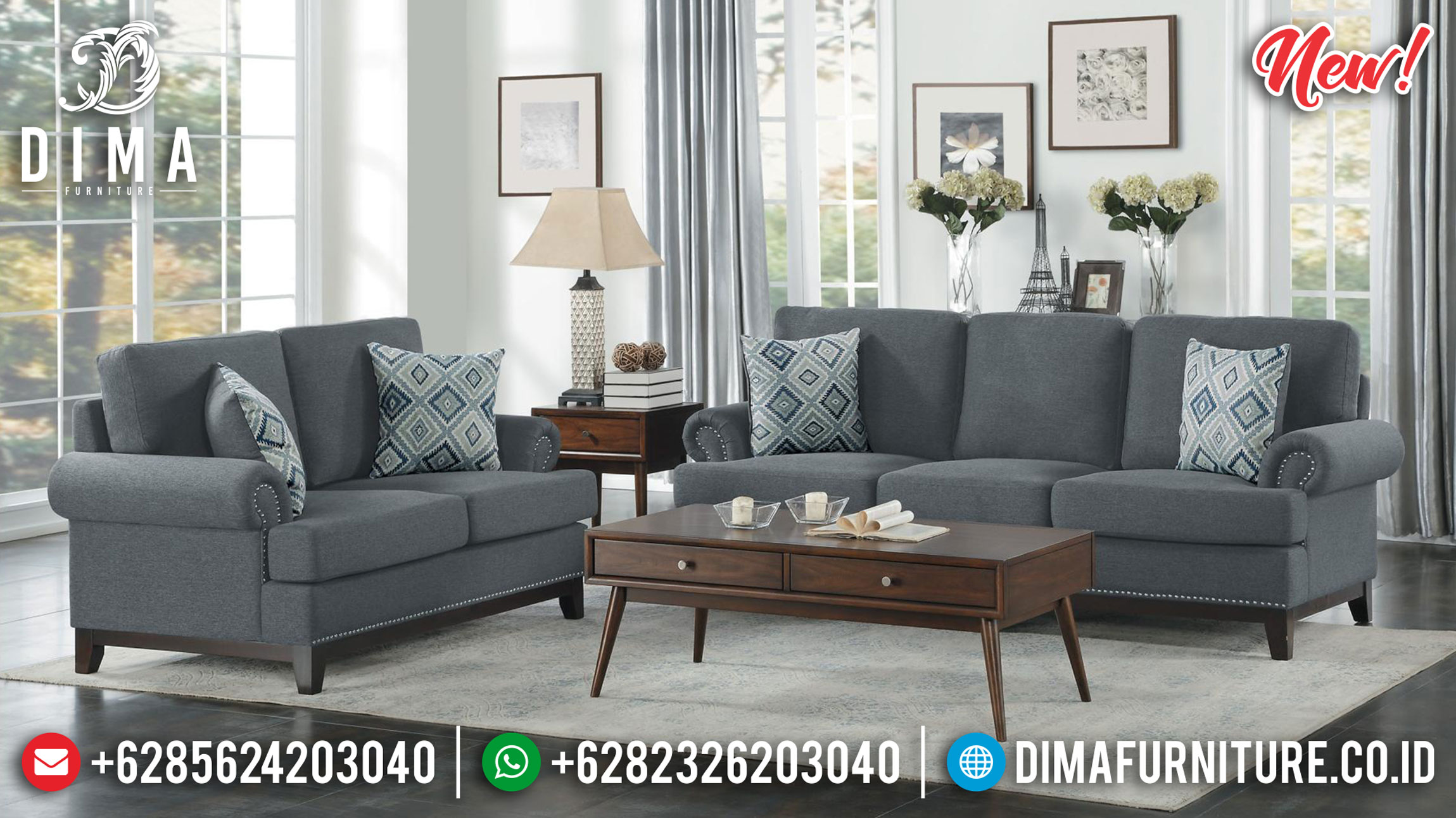 Kursi Sofa Tamu Minimalis Jepara Retro Sale 2020 DF-1364