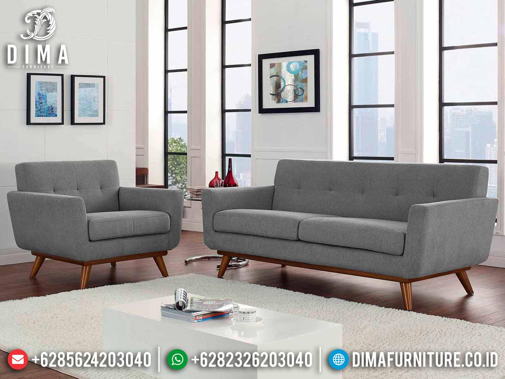 New Sale Sofa Tamu Minimalis Jepara Retro Rangka Jati Bisa Custom Df-1368