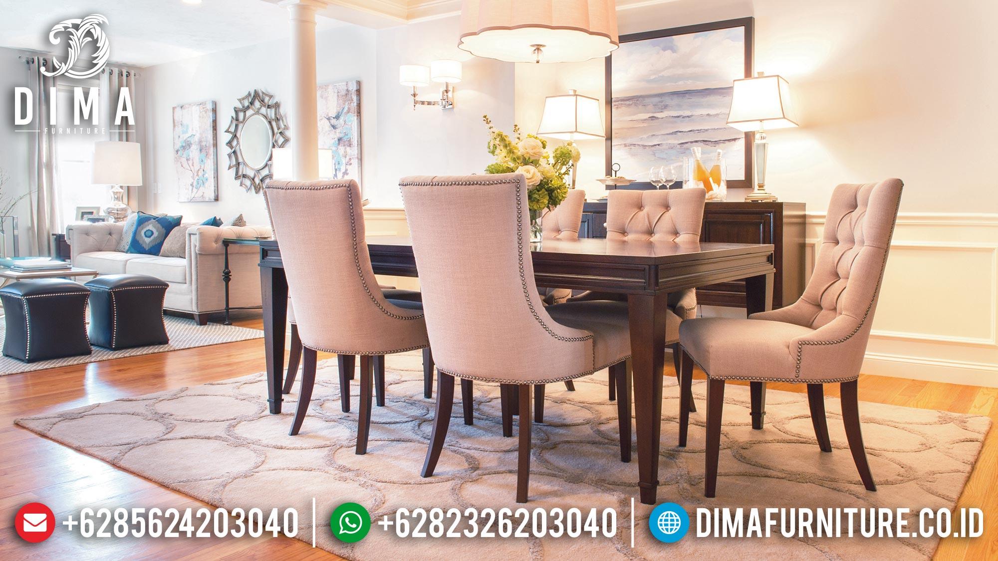 Hot Sale Meja Makan Minimalis Terbaru Beautiful Damara DF-1438