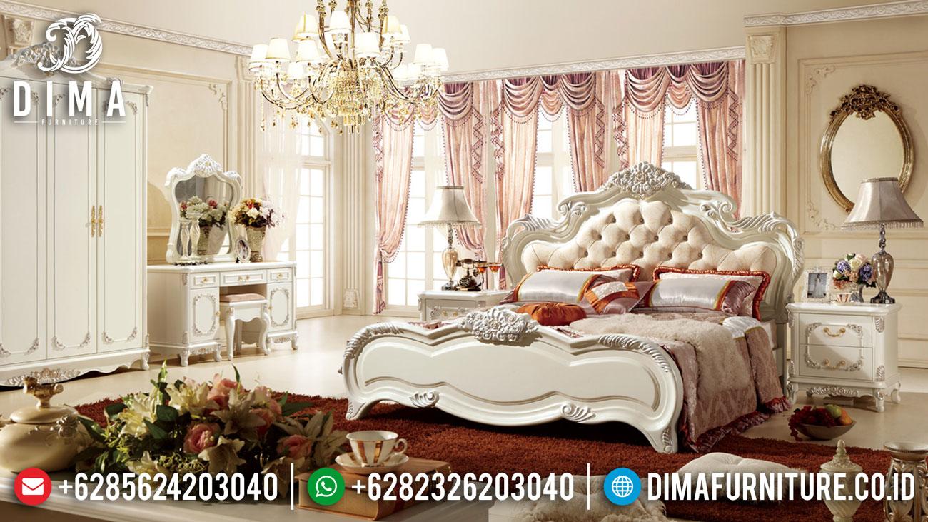 Ranjang Tempat Tidur Mewah Kamar Pengantin Luxury DF-1428