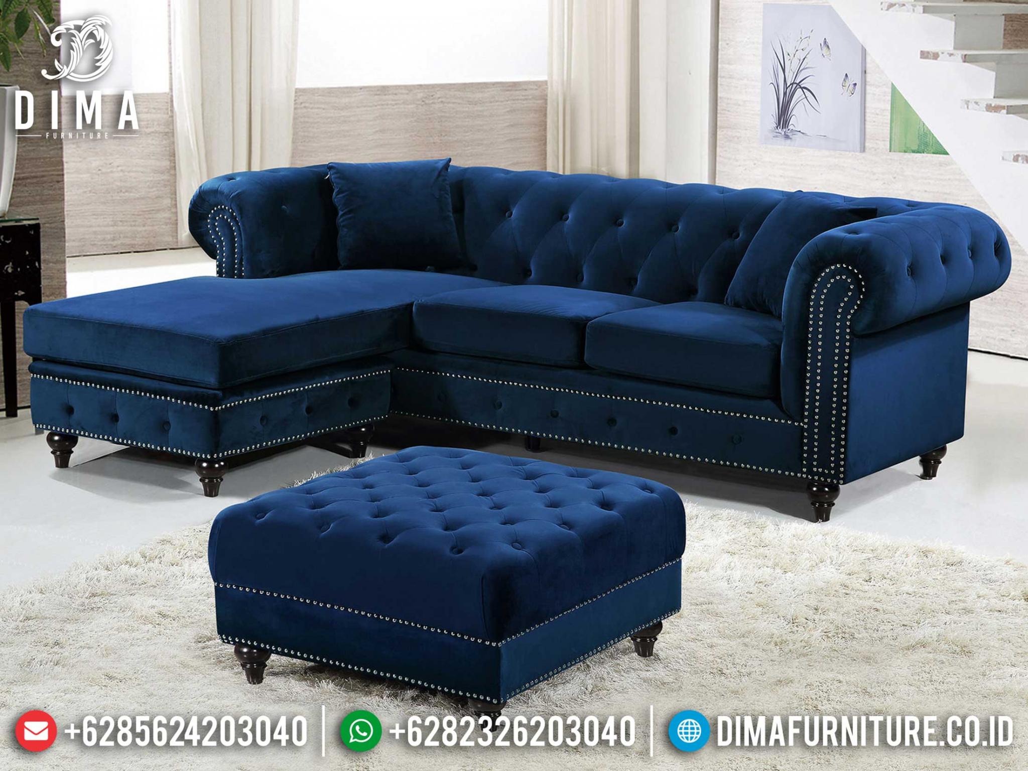 Sale Sofa Tamu Minimalis Sudut L Terbaru Salman DF-1420