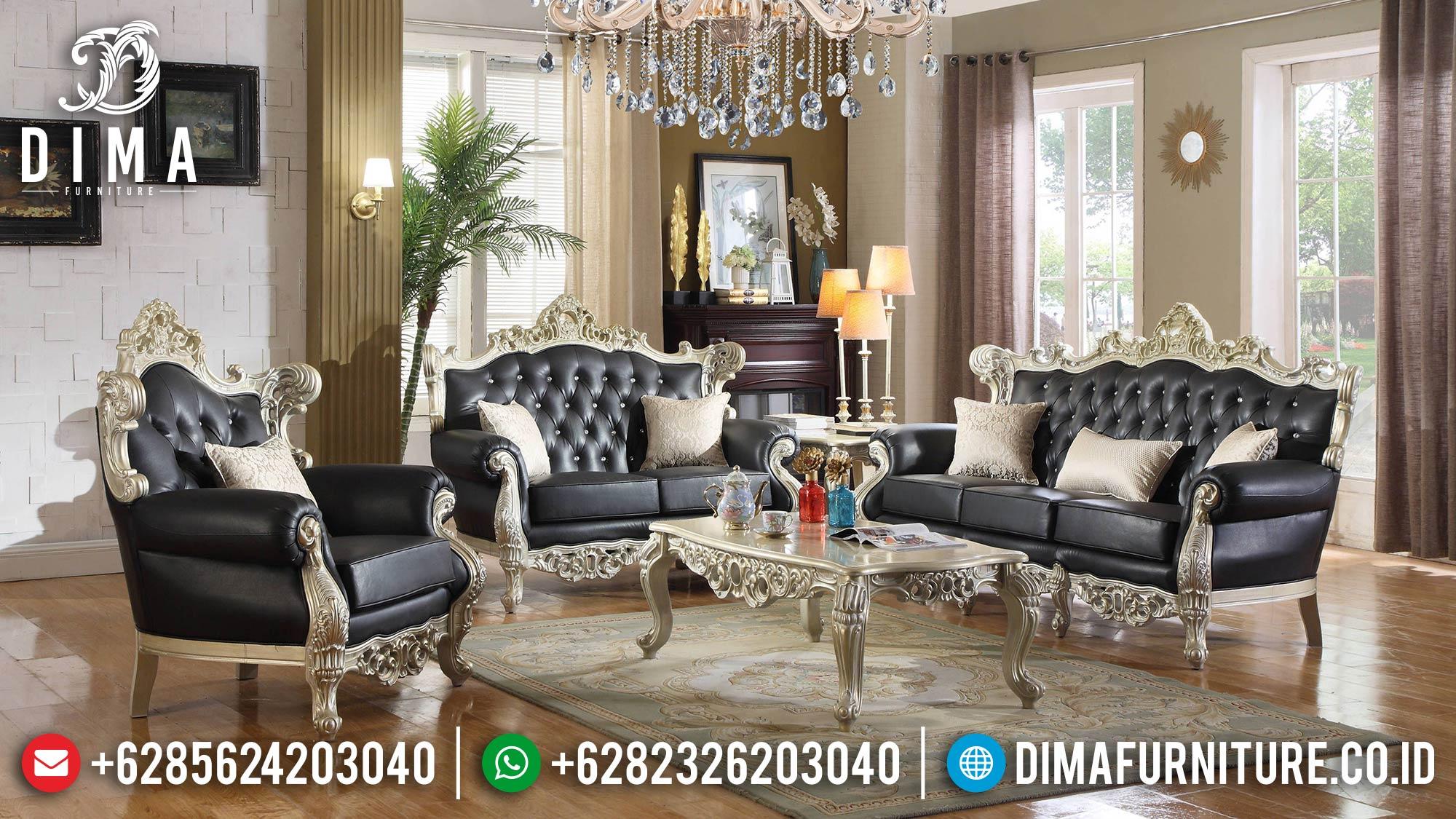 Set Sofa Tamu Terbaru Mewah Klasik Jepara Royal Luxury DF-1494