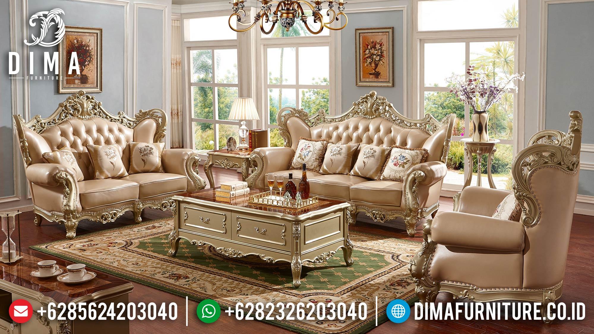 Jual Sofa Tamu Mewah Terbaru Jepara Golden Duco New 2021 DF-1519