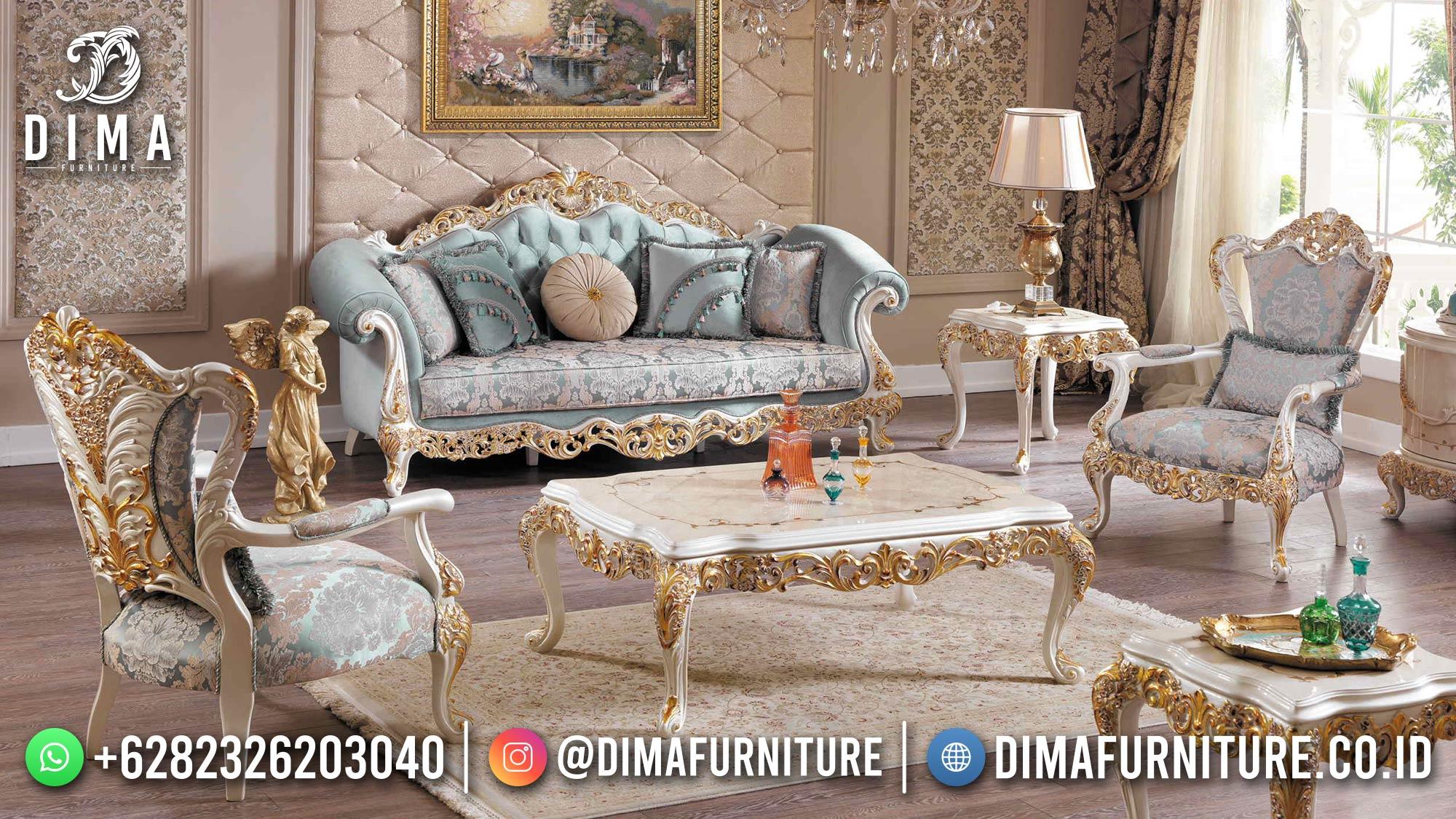 Kursi Sofa Ruang Tamu Jepara Golden Ivory New 2021 DF-1529