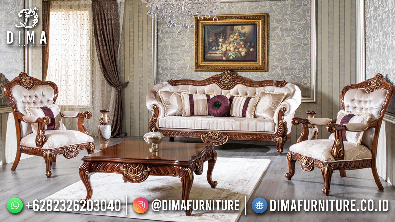 Set Sofa Ruang Tamu Mewah New Patron Mebel Jepara DF-1526