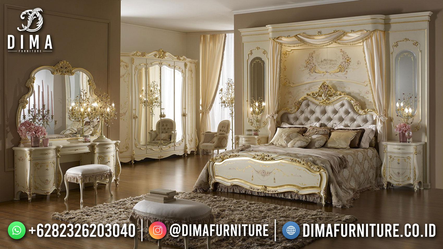 Buy Now Tempat Tidur Mewah Ukir Jepara Luxury Classic DF-1589