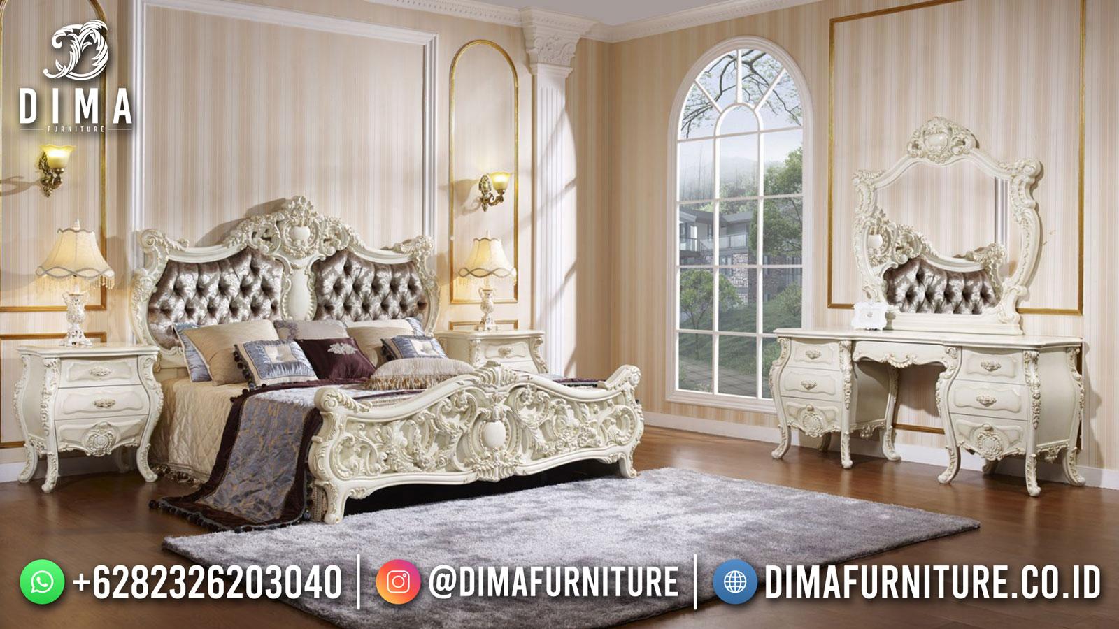 Harga Tempat Tidur Jepara Ukiran Classic Luxury Desain Mewah DF-1596