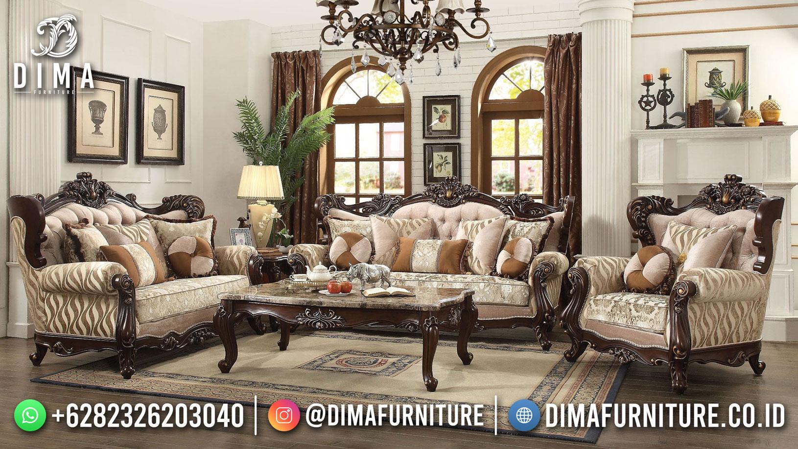 Jual Set Sofa Tamu Mewah Model Terbaru Deluxe New Athena DF-1545