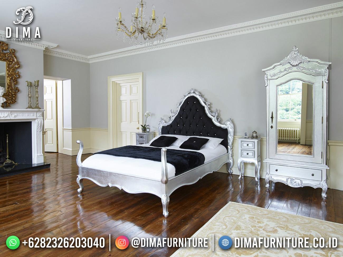 Jual Tempat Tidur Mewah Klasik Jepara Luxury Carving DF-1585