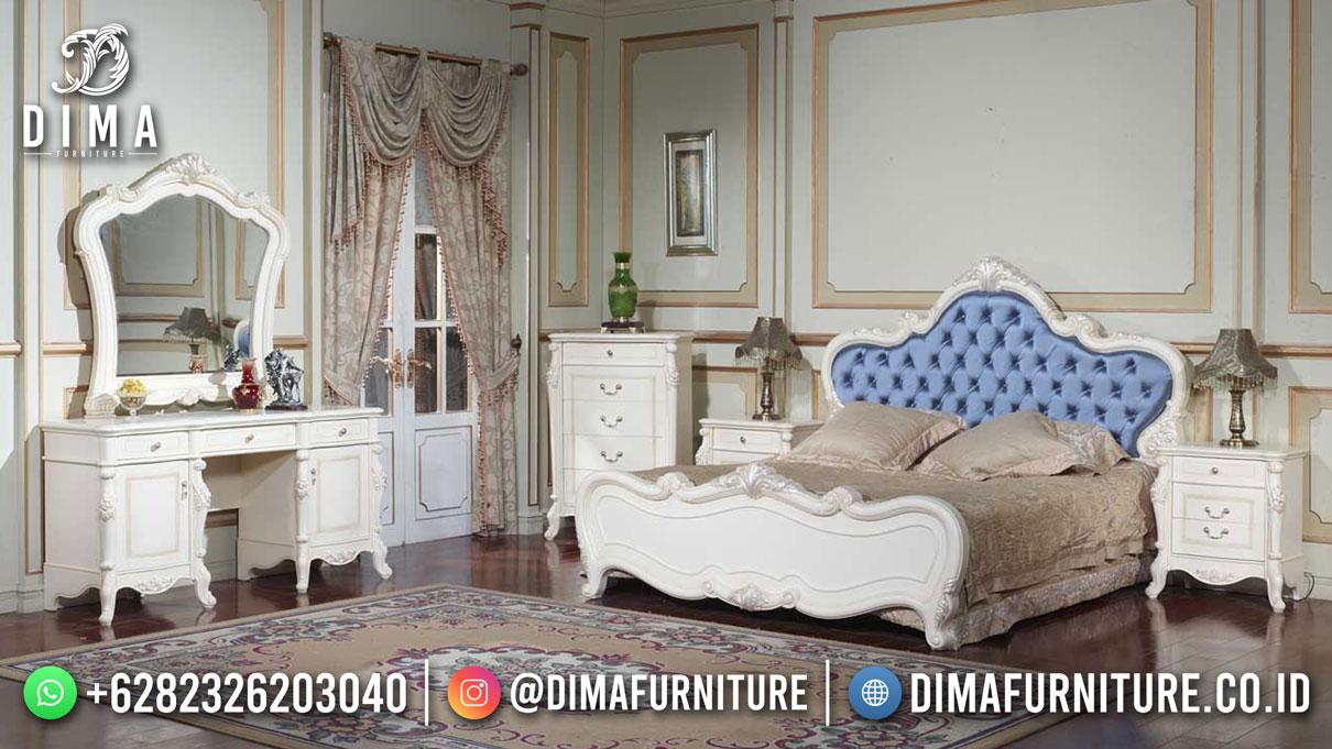 Beauty Ivory Tempat Tidur Mewah Good Quality DF-1695