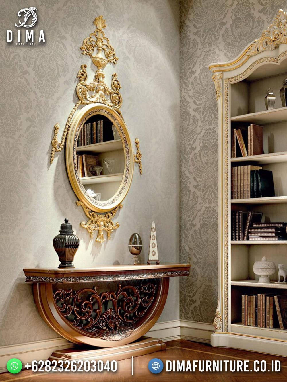 Caribbean Style Meja Hias Elegant Carving DF-1658