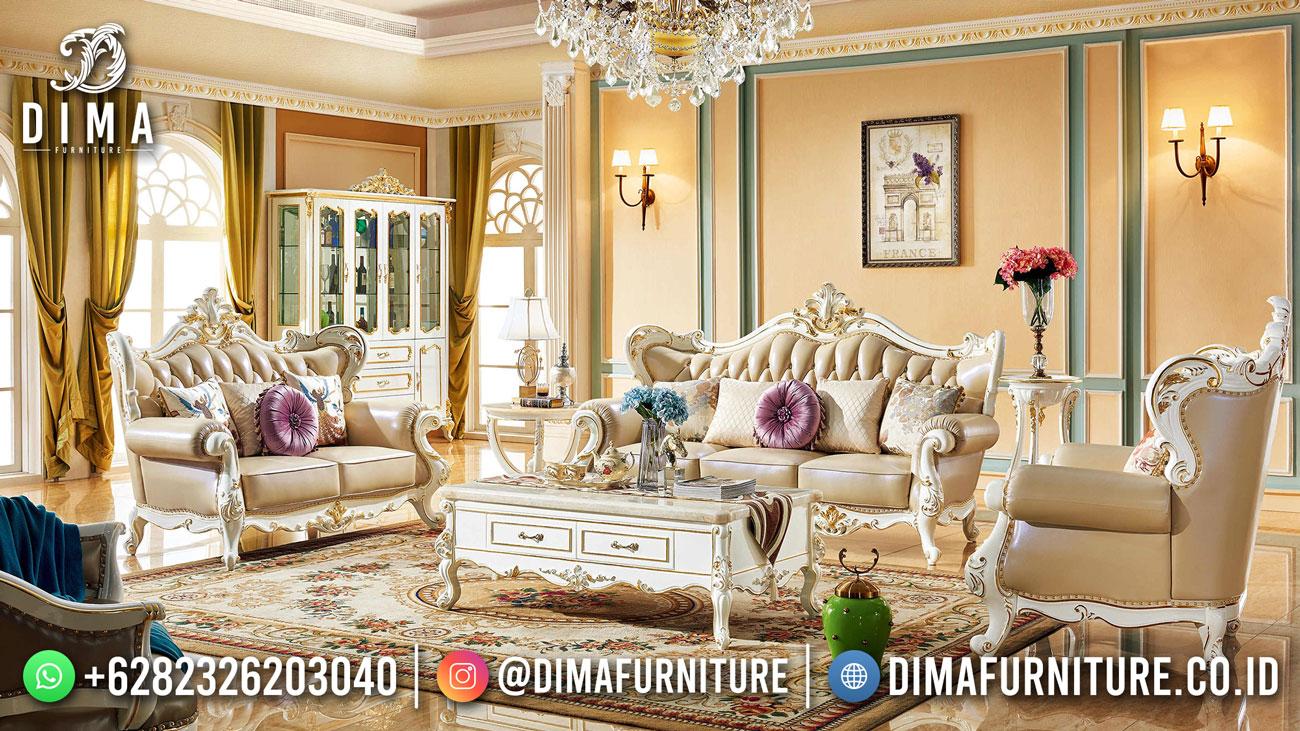 Desain Sofa Ruang Tamu Mewah Classic Luxury DF-1621