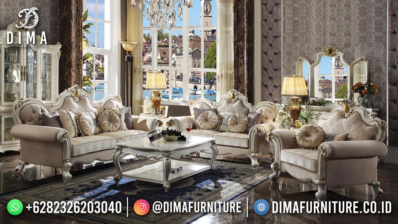 Diskon Sofa Tamu Mewah UKir Asli Jepara Exclusive Design DF-1612