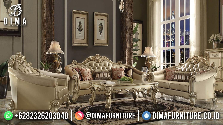 Furniture Jepara Sofa Tamu Mewah Klasik Excellent Design DF-1637