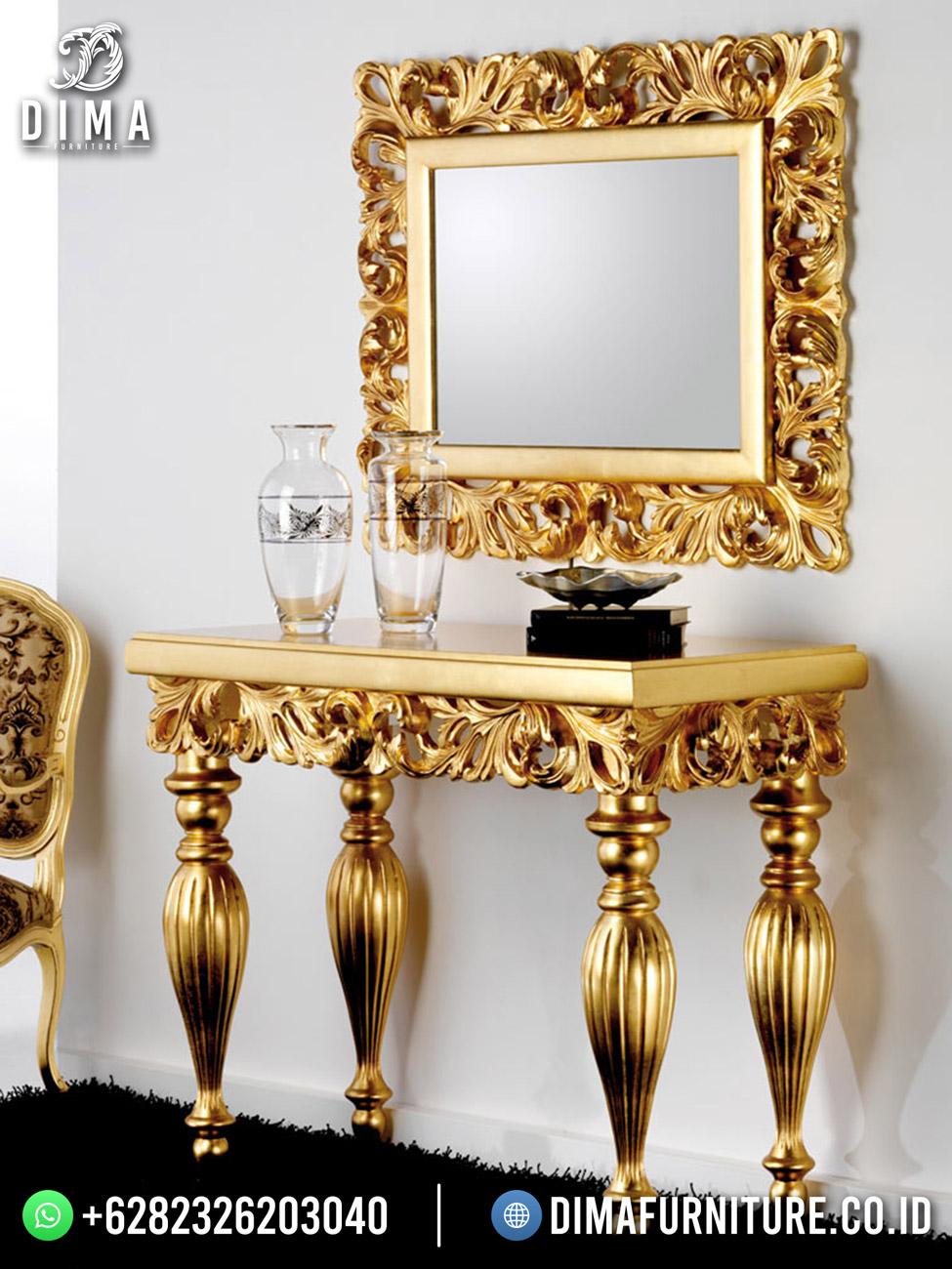 Golden Luxury Set Meja Konsol Asli Jepara DF-1656