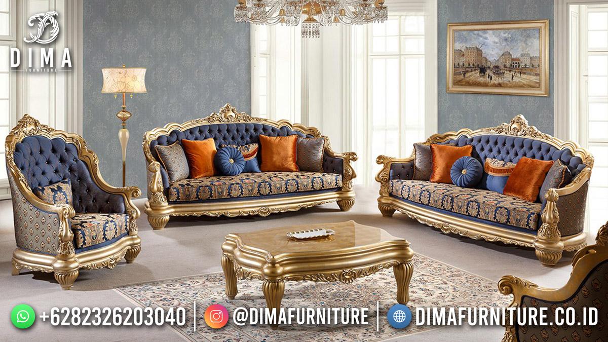 Ide Kursi Sofa Tamu Terbaru Furniture Jepara Exclusive Design 001