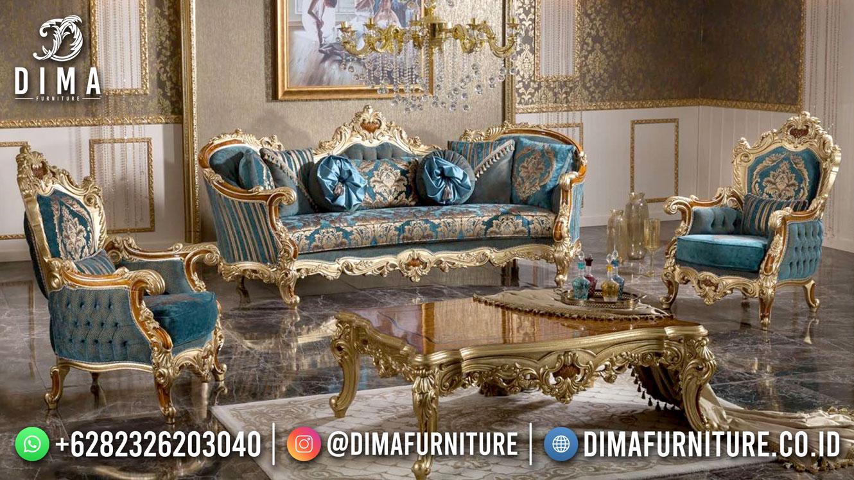 Ide Sofa Tamu Mewah Jepara Terbaru Beauty Percy DF-1610