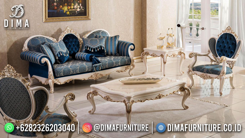 Inspirasi Set Sofa Tamu Mewah Ukir Klasik Luxury DF-1609