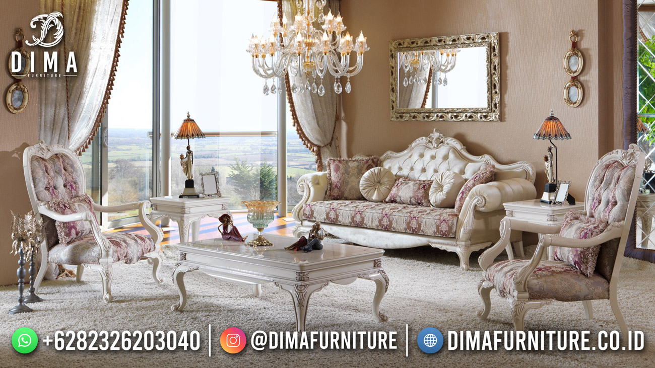 Kursi Sofa Tamu Mewah Jepara Luxury Classic DF-1635