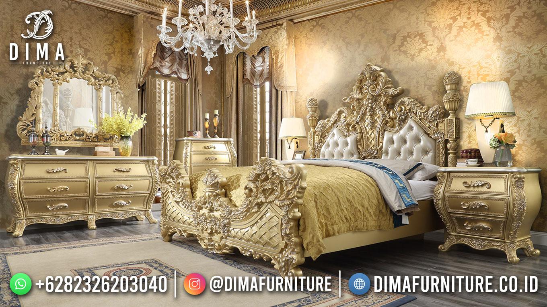 Luxury Kamar Set Mewah Ukiran Jepara Kingdom Style DF-1701