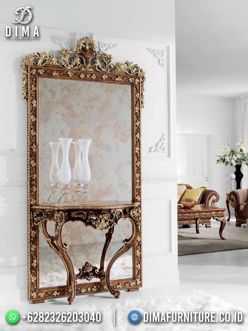 Royal Design Meja Konsol Jepara Gorgeous DF-1662