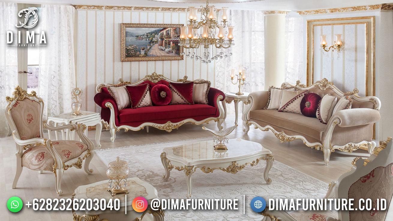 Sale Sofa Tamu Jepara Desain Mewah Exclusive Brianna Df-1618