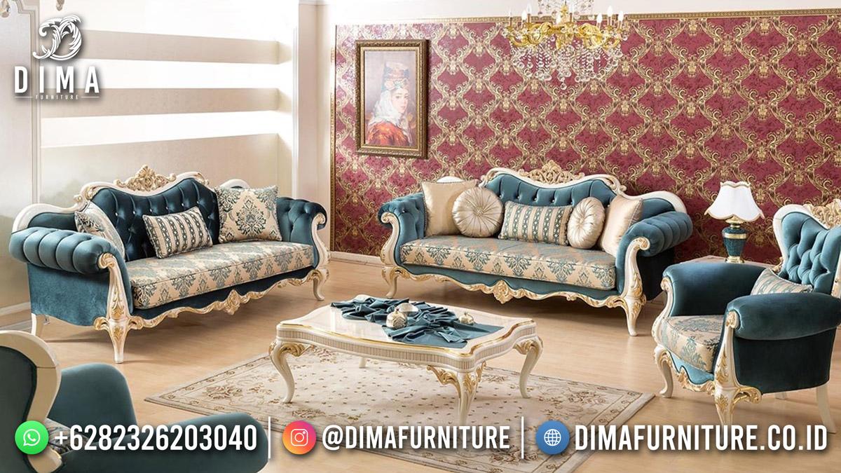 Set Kursi Sofa Mewah Jepara Luxury Carving Df-1626