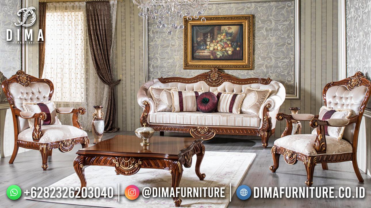 Sofa Minimalis Jati Asli Jepara Ukiran Exclusive DF-1604