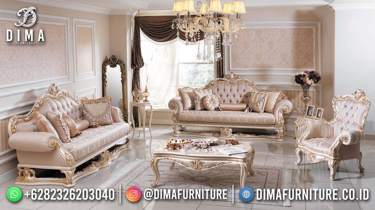 Terbaru Kursi Tamu Mewah Jepara Luxury Beauty Audrey Df-1617