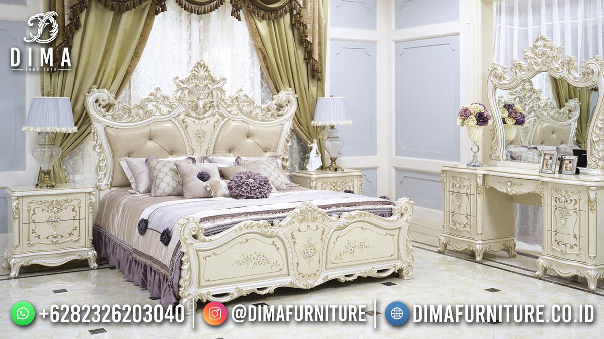 Beauty Luxury Tempat Tidur Terbaru Ukiran Jepara Best Product DF-1808
