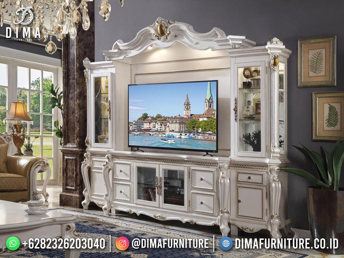 Beauty White Duco Bufet TV Jepara Terbaru The Lady Calla DF-1799