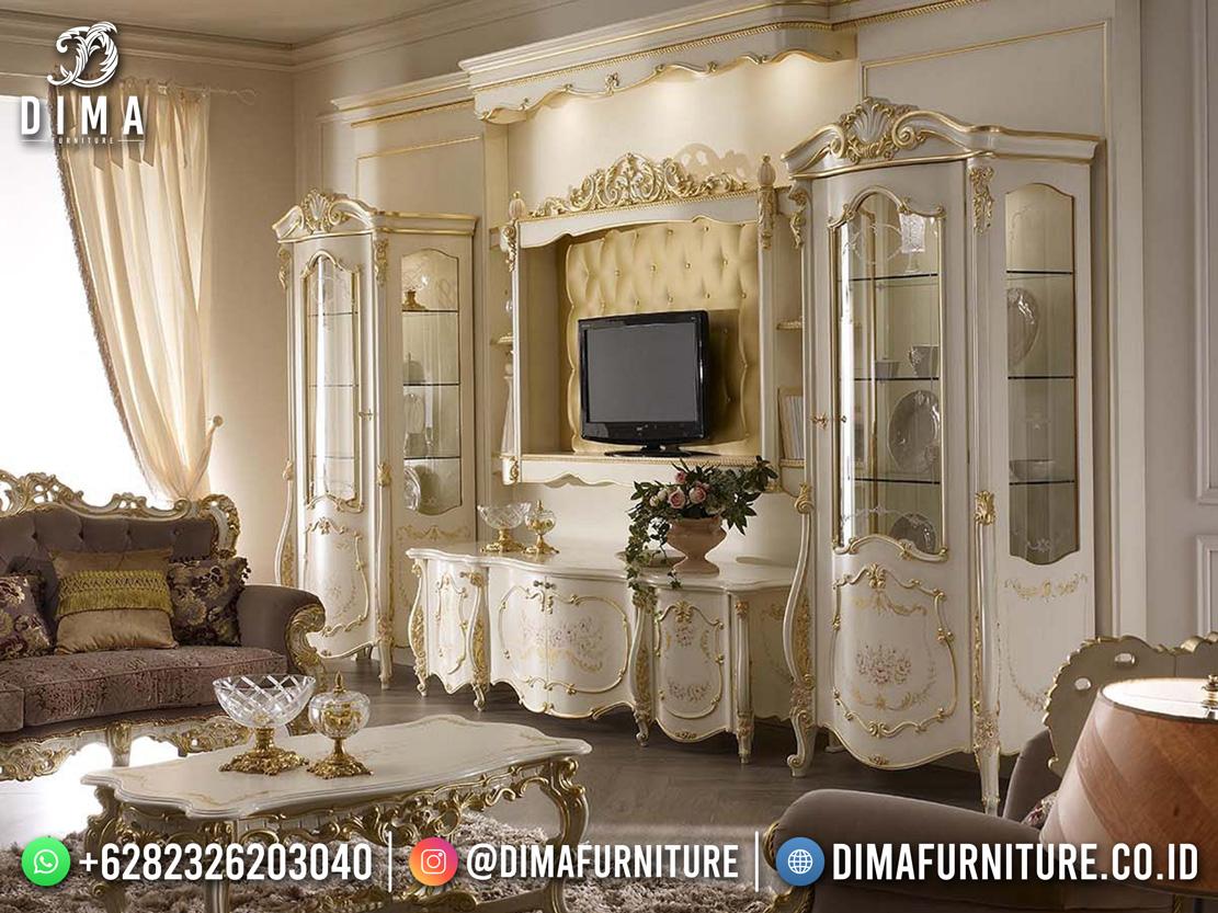 Charismatic Design Bufet TV Modern Terpopular Cat Duco Putih DF-1775